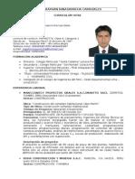 curriculum vitae - john B ninasivincha.doc