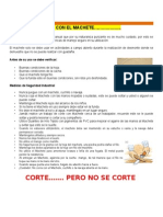 Uso Seguro Del Machete
