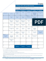 Barbri Winter 2015 California Bar Exam Review Schedule