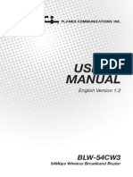 Blw-54cw3 Manual v1.2 Eng