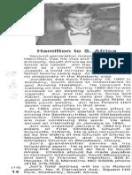 Hamilton Jonathan 1986 SouthAfrica&World