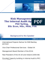 Risk Management and Internal Audit