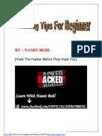 Hacking Tips