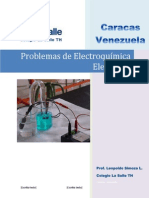 Problemas de Electroquímica Elemental