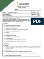 Plano de Ensino - Desenho Técnico _ 01-2015