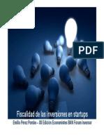 Fiscalidad de Las Inversiones en Startups