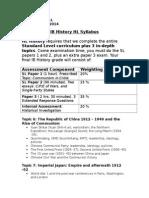 IB History HL