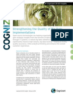 Strengthening the Quality of Big Data Implementations