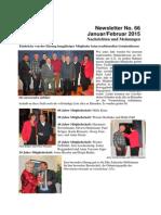 Januar 2015 (Ausgabe Nr. 66)