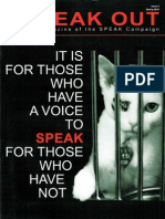 SPEAK OUT Issue 9 Spring 2010