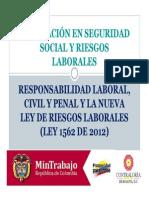 Legislación en Seguridad Social y Riesgos Laborales