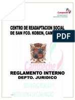 Reglamento Interno Del Ce.re.So 01