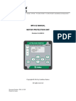 Littelfuse Protectionrelays Mpu 32 Manual