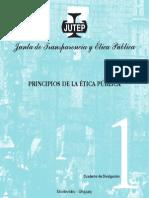 Cuaderno de Divulgación Nº 1 - Principios de La Ética Pública