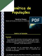 Aula Genetica de Populacoes