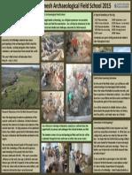 tbs poster field school 2015 handouts