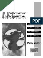 Direccion de Mercadotecnia