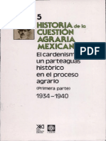 5.-Historia de La Cuestion Agraria Mexicana Cardenismo