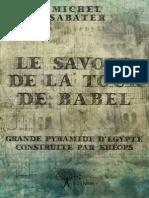 Edilivre Le Savoir de La Tour de Babel 1e8c7eb1a3 Preview