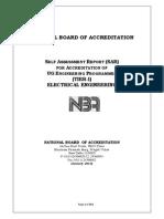 Nba Sar Ug b.tech. Electrical Engg
