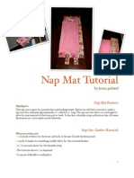 My Nap Mat Tutorial