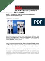 11-02-2015 Sexenio Puebla - Moreno Valle Entrega Obras de Salud y Campo en Hueytamalco