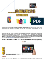 Mejores Tablets 2015