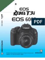 Manual Canon T3i Espanol