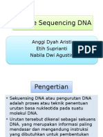 Metode Sequencing DNA