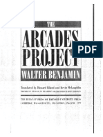 Walter Benjamin, The Arcades Project