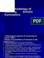 Methods of Teaching Artistic Gimnastics