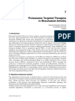 Proteasome Targeted Therapies in Rheumatoid Arthritis