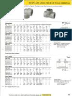 Stainless Steel Socket Weld Fittings