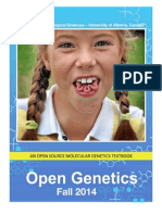 Open Genetics - Fall 2014