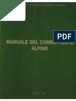 Manuale Del Combattente Alpino