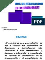 Organismos de Regulacion