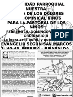 HOJITA EVANGELIO DOMINGO VI TO B BN