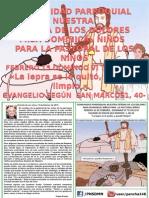 HOJITA EVANGELIO DOMINGO VI TO B  COLOR