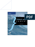 Manual Finale 2005