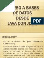 Acceso a Base de Datos Desde Java