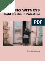 Bearing Witness - Ana Barahona