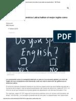 ¿En qué países de América Latina hablan el mejor inglés como segundo idioma_ - BBC Mundo