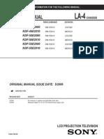 Service manual SONY_LA-4