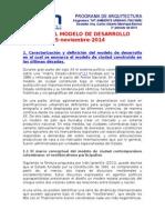 3 El Modelo de Desarrollo Urbano