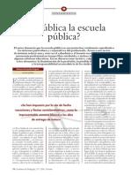 Es Publica La Escuela Publica -CdP 284 1999