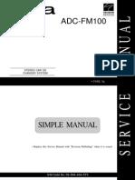 Aiwa Adc-fm100 Simple