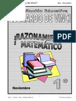 Noviembre - Raz. Matematico - 1ro