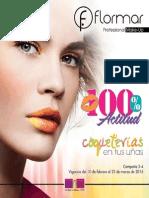 Catálogo Flormar Campaña 3-4 2015