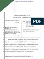 Judge Rice's order denying dismissal of case against Kettle Falls Five