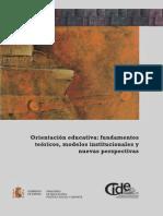 Orientacion Educativa Fundamentos Teóricos